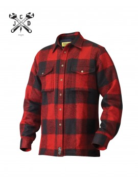 John Doe Kevlar Lumberjack Red